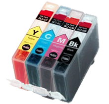 CANON BCI6 INK / INKJET Cartridges Set Black Cyan Yellow Magenta