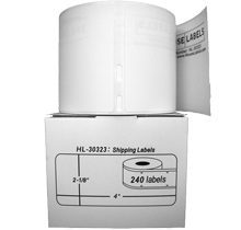 DYMO 30323 Shipping Label Rolls - 2-1/8