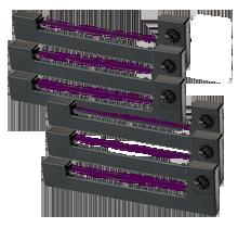 EPSON ERC-09PL Ribbons 6-PACK Purple