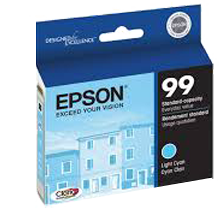 ~Brand New Original EPSON T099520 INK / INKJET Cartridge Light Cyan