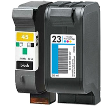 HP 51645A / C1823A (45A / 23A) INK / INKJET Cartridge Combo Pack Black Tri-Color