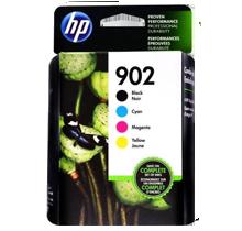 ~Brand New Original HP 902 INK / INKJET Cartridge Set Black Cyan Magenta Yellow