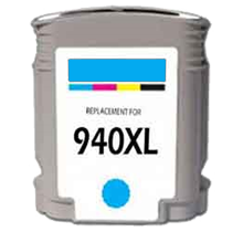 HP C4907AN (940XL) INK / INKJET Cartridge Cyan High Yield