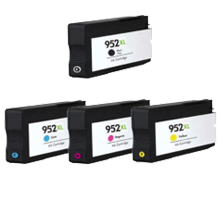 HP 952XL High Yield INK / INKJET Cartridge Set Black Cyan Yellow Magenta
