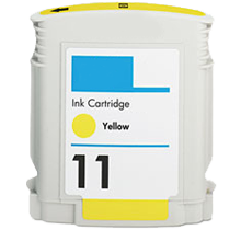 HP C4838A INK / INKJET Cartridge Yellow