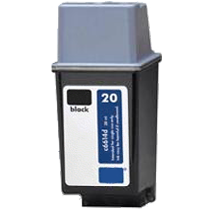 HP C6614A (20) INK / INKJET Cartridge Black
