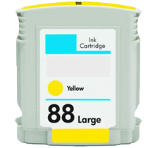 HP C9393A (88XL) INK / INKJET Cartridge Yellow High Yield