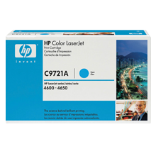 ~Brand New Original HP C9721A Laser Toner Cartridge Cyan