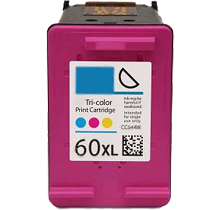HP CC644WN HP 60XL Tri-Color High Yield Inkjet Cartridge