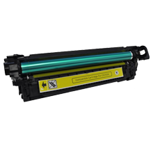 MADE IN CANADA HP CE252A Laser Toner Cartridge Yellow