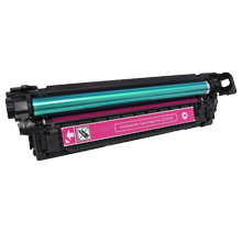MADE IN CANADA HP CE253A Laser Toner Cartridge Magenta