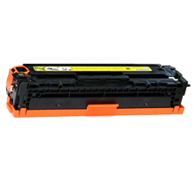 MADE IN CANADA HP CE322A 128A Laser Toner Cartridge Yellow