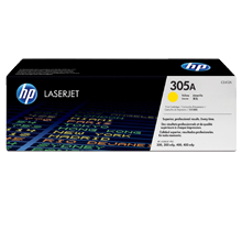 ~Brand New Original HP CE412A 305A Laser Toner Cartridge Yellow