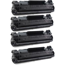 PACK of 4-HP CF283A (83A) Laser Toner Cartridge