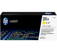 ~Brand New Original HP CF402A (201A) Laser Toner Cartridge Yellow