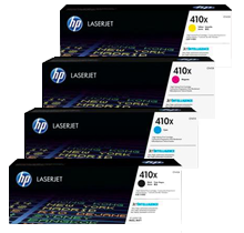 ~Brand New Original HP CF410X Laser Toner Cartridge High Yield Set Black Cyan Yellow Magenta
