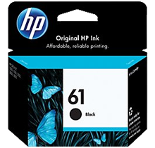 ~Brand New Original HP CH561WN (HP61) INK / INKJET Cartridge Black