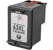 HP F6U64AN (HP 63XL) High Yield INK / INKJET Cartridge Black