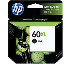 ~Brand New Original HP CC641WN HP 60XL Black High Yield Ink Cartridge