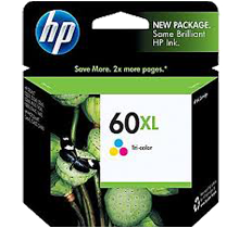 ~Brand New Original HP CC644WN HP 60XL Tri-Color High Yield Inkjet Cartridge