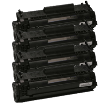 PACK of 4-HP Q2612A HP12A Laser Toner Cartridge