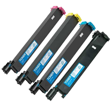 KONICA MINOLTA C250 Laser Toner Cartridge Set Black Cyan Yellow Magenta