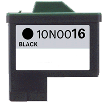 LEXMARK 10N0016 #16 INK / INKJET Black