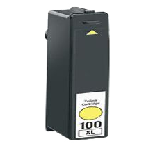 LEXMARK 14N1071 100XL High Yield INK / INKJET Cartridge Yellow