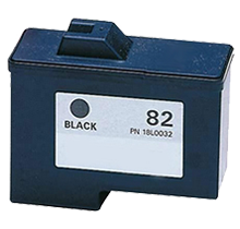 LEXMARK 18L0032 #82 INK / INKJET Black