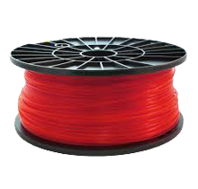 3D-ABS-Red Universal Filament Red 1KG / Roll Solid Diameter 1.75mm