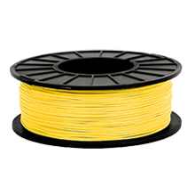 3D-ABS-Yellow Universal Filament Yellow 1KG / Roll Solid Diameter 1.75mm