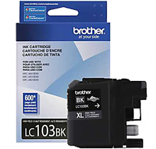 ~Brand New Original BROTHER LC103BK INK / INKJET Cartridge Black High Yield