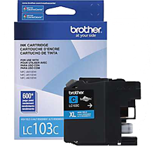 ~Brand New Original BROTHER LC103C INK / INKJET Cartridge Cyan High Yield