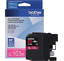 ~Brand New Original BROTHER LC103M INK / INKJET Cartridge Magenta High Yield