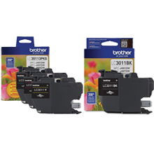 ~Brand New Original BROTHER LC3011 INK / INKJET Cartridge Set Black Cyan Magenta Yellow