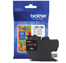 ~Brand New Original BROTHER LC3011M INK / INKJET Cartridge Magenta