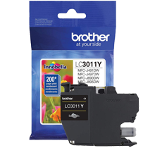 ~Brand New Original BROTHER LC3011Y INK / INKJET Cartridge Yellow