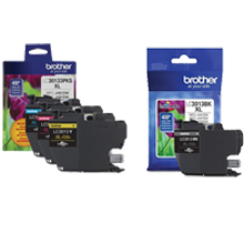 ~Brand New Original BROTHER LC3013 High Yield INK / INKJET Cartridge Set Black Cyan Magenta Yellow