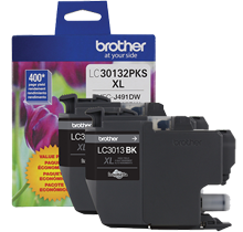 ~Brand New Original BROTHER LC30132PKS High Yield INK / INKJET Cartridge Black (2 PACK)