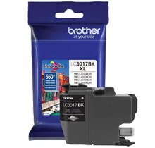 ~Brand New Original BROTHER LC3017BK High Yield INK / INKJET Cartridge Black