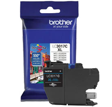 ~Brand New Original BROTHER LC3017C High Yield INK / INKJET Cartridge Cyan
