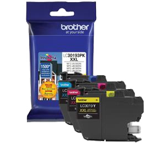 ~Brand New Original BROTHER LC3019 Extra High Yield INK / INKJET Cartridge 3-Pack Cyan Magenta Yellow