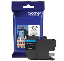 ~Brand New Original BROTHER LC3019C Extra High Yield INK / INKJET Cartridge Cyan