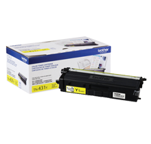 ~Brand New Original BROTHER TN-431Y Laser Toner Cartridge Yellow