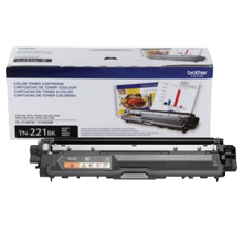 ~Brand New Original BROTHER TN221BK Laser Toner Cartridge Black