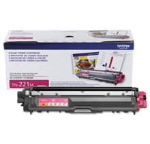 ~Brand New Original BROTHER TN221M Laser Toner Cartridge Magenta