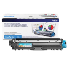 ~Brand New Original BROTHER TN225C High Yield Laser Toner Cartridge Cyan
