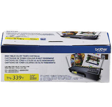 ~Brand New Original BROTHER TN339Y Super High Yield Laser Toner Cartridge Yellow