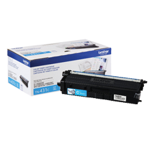 ~Brand New Original BROTHER TN-431C Laser Toner Cartridge Cyan