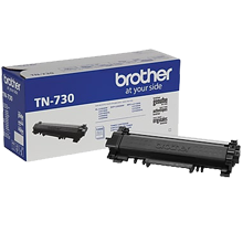 ~Brand New Original BROTHER TN730 Laser Toner Cartridge Black